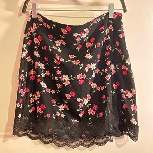 Floral Lacey Skirt!